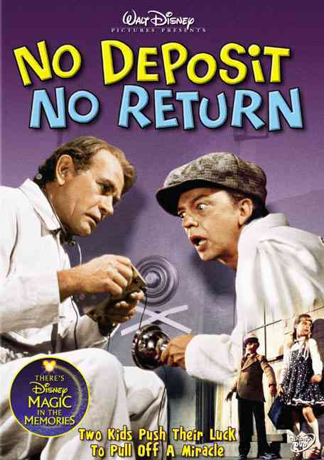 NO DEPOSIT NO RETURN BY NIVEN,DAVID (DVD)