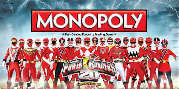 USAopoly Monopoly : Power Rangers 20th Anniversary Edition By Usaopoly (COR) at Sears.com